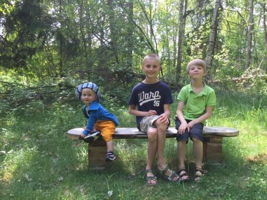 Tre söner