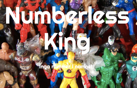 Ny blogg: Numberless king